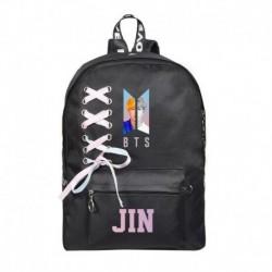 JIN - Bangtan Boys J-Hope SUGA V hátizsák válltáska iskolai könyvtáska nyakkendő vászon