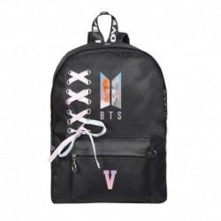 V - Bangtan Boys J-Hope SUGA V hátizsák válltáska iskolai könyvtáska nyakkendő vászon