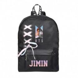 JIMIN - Bangtan Boys J-Hope SUGA V hátizsák válltáska iskolai könyvtáska nyakkendő vászon