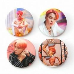 10. - 7db / szett Kpop Bangtan fiúcsapok imádják magad Könnyalbum brossok kitűző
