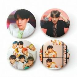 14 - 7db / szett Kpop Bangtan fiúcsapok imádják magad Könnyalbum brossok kitűző