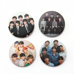 4 - 7db / szett Kpop Bangtan Boys Pins Love Yourself Tears Album Brosses Set Badge
