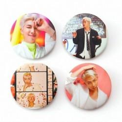 12. - 7db / szett Kpop Bangtan Boys Pins Love Yourself Tears Album Brosses Set Badge