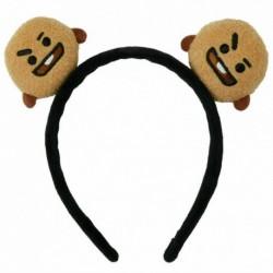 1 - Kpop BTS fejpántok hajpánt nyakkendő Bangtan Boys CHIMMY BT21 Tuck Comb fejfedők UK