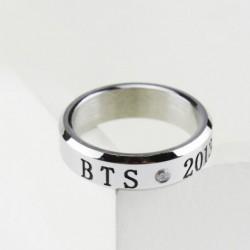 BTS - BANGTAN BOYS BTS gyűrű Rozsdamentes acél KPOP JUNGKOOK JIMIN JIN V SUGA J-HOPE