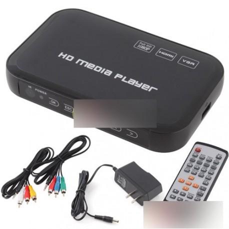 3D 1080p médialejátszó Full HD HDMI H.264 MPEG No.1