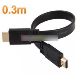 0,3m 1.4a HDMI kábel 1.4V 1080p HD w  HDTV 30cm