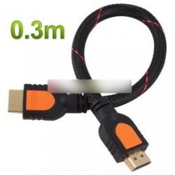 0,3m 1.4a HDMI kábel 1.4V 1080p HD  HDTV 30cm