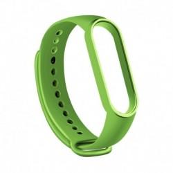 Zöld tea - Karkötő Xiaomi Mi Band 5 sportpántos órához szilikon csukló intelligens kiegészítők