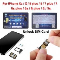 Nincs szín - 2X HEICARD UNLOCK Chip iPhone X XS 8 7   SIM-kártya feloldása ICCID IOS 13.2.3