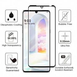 Nincs szín - 2 csomag ívelt élű 3D edzett üveg filmvédő képernyővédő fólia LG Velvethez