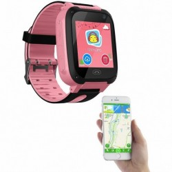 Nincs szín - Kinder-Smartwatch mit Telefon Kamera / GSM / LBS-Tracking / SOS-Funktion rosa