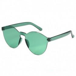 Átlátszó zöld film - Candy átlátszó női napszemüveg szemüveg lencse műanyag színes férfi kerek darab