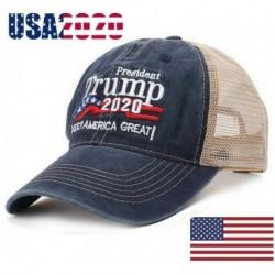 Nincs szín - Trump Hat Keep America Great 2020 Campaign Mesh Hat állítható baseball sapka kék