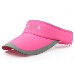 Rózsavörös - Divat tenisz sportok állítható sapka napellenző golf sapka fejpánt kalap strandvizor