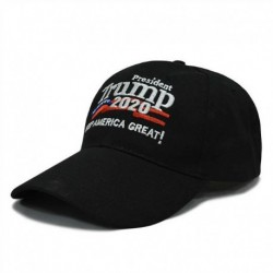 Fekete-A - Donald Trump 2020-as elnök tegye ismét Amerikát nagyszerűvé MAGA Baseball Caps