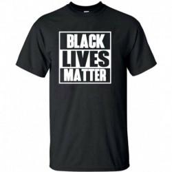 XXXL - BLACK LIVES MATTER póló ANTI RACISM Mozgalom Riot Protest Justice Férfi hölgyek
