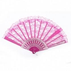 Rózsa - Dame Eleganter kínai kinézet Flgel-Chun-Art-Tanzen-faltender Spitze-Handfächer