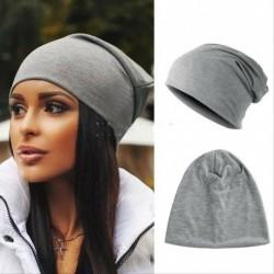 szürke - Női férfiak kötött téli meleg sí horgolt slouch kalap sapka sapka túlméretes unisex
