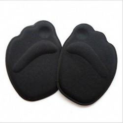Fekete - 1Pair Medical Metatarsal puha párnák a nők lábfejének csúszásgátló fit magas sarkú meleg