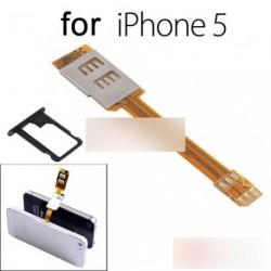 Dual SIM-kártya adapter átalakító iPhone 5 5. 5C 6