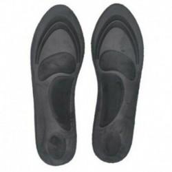 Fekete (35-40 yard) - 4D Memory Foam Orthotic Arch Sport támogató cipő talpbetét párna fájdalomcsillapító DE