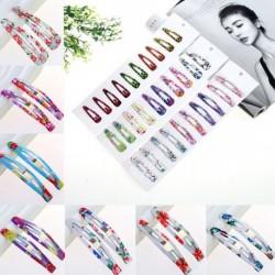 Nincs szín - 10db nagykereskedelmi többszínű hajcsattanó klip karom női női haj kiegészítők
