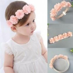 Nincs szín - Aranyos csipke virág kislány gyerekek tipegő fejpánt hajszalag fejfedő kiegészítők