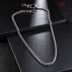 1 RÉTEG - 1/2/3 rétegű nadrág lánc gótikus punk nadrág lánc Jean pénztárca lánc