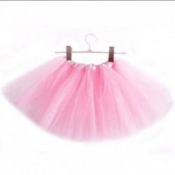 Rózsaszín - 3 rétegű kisgyermek gyerek lányok tutu szoknya öltöztetős jelmezes party 2-9 éves ajándék
