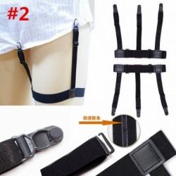 * 2 - 2db férfi kézi tartó tartó ing harisnyakötő csúszásgátló reteszelő bilincsek öv egységes AU