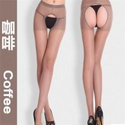 Kávé - Szexi női csipke felső Stay Up comb magas harisnya harisnyanadrág harisnya harisnyanadrág