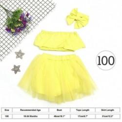 100cmďĽˆ18-24hónapďĽ ‰ - 6-24 hónapos kislány ruhák Váll felsőrész Tutu Tulle szoknya készlet UK