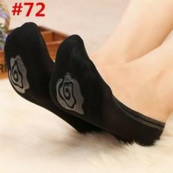72 - Vintage női fodros íj necc boka magas zokni háló csipke hal háló rövid zokni