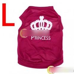 Kutya kabát hercegnő póló ruha L méret