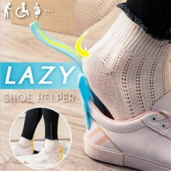 2db - 2 * Lusta cipősegítő Unisex kezelt cipőkürt Könnyen be- és kikapcsolható cipőemelő segítő