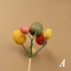 A - Kreatív húsvéti tojásfa dekorációs ág festő tojások húsvéti tojás díszek