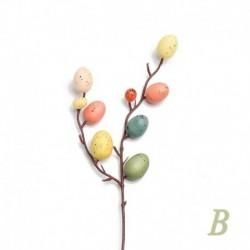 B - Kreatív húsvéti tojásfa dekorációs ág festő tojások húsvéti tojás díszek