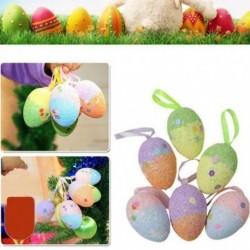 Nincs szín - Színes hab húsvéti tojás függő díszek húsvéti karácsony lakberendezés