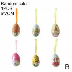 5 * 7 cm - Lakberendezési tárgyak függő díszek játék ajándékok húsvéti dekoráció tojás készlet festés S6D4