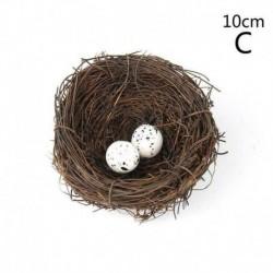 10 cm-es fészek   2db tojás - Húsvéti dekoráció a szimulált mini mesterséges fürjtojás eladásról. Forró