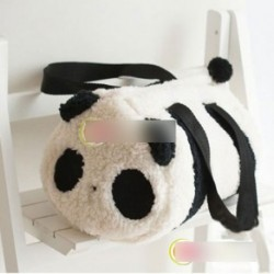 Aranyos plüss panda kézitáska válltáska