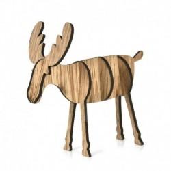 1db nagy tölgy (14x15cm) - DIY 3D karácsonyfa fa medálok függő karácsonyi dekoráció otthoni party dekoráció
