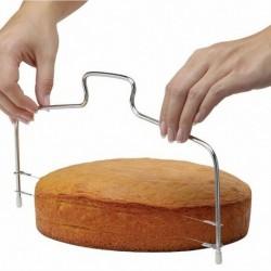 Dupla végű - Rozsdamentes acél kézi tortaszeletelő