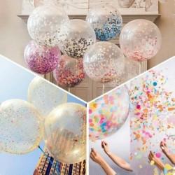 Nincs szín - 20PC 12 &quot színes konfetti léggömb hélium lufi születésnapi esküvői dekoráció