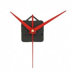 * 4 Piros - Nagy csendes kvarc barkácsolású falióra mozgó kezek mechanizmus javító alkatrész szerszámkészlet