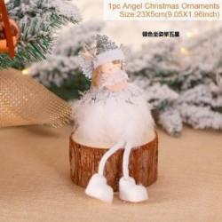 21 * - Karácsonyi ajándék karácsonyfa függő medál angyal baba dísz otthoni asztaldísz USA