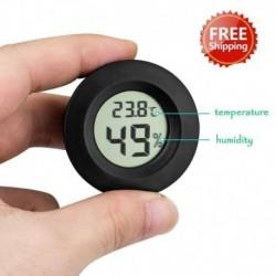 Nincs szín - Mini LCD Celsius digitális hőmérő higrométer hőmérséklet-páratartalom mérő
