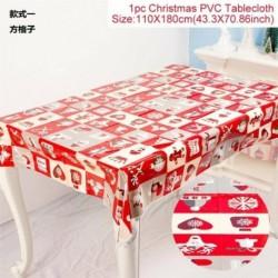 Négyzetrács - WIPE CLEAN PVC VINYL Asztal ruházat étkező asztal borító védő többszörös tervek