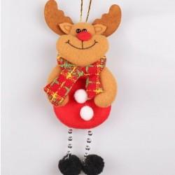1db 17x8cm-es Rénszarvas dísz - Karácsonyi dekoráció - 12